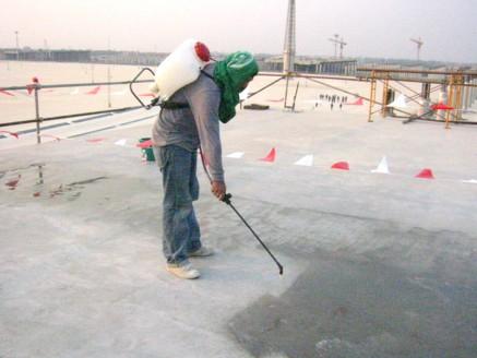 งานติดตั้งระบบกันซึม (Waterproofing System)