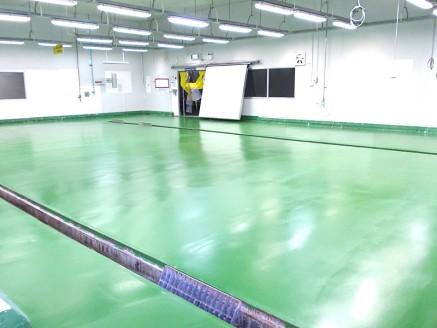 งานติดตั้งระบบพื้นอาคาร และโรงงาน (Flooring System)